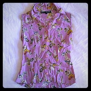 Betsey Johnson Vintage Blouse